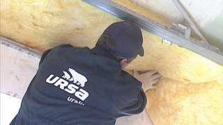 Звукоизоляция потолка Ursa 2(Компания