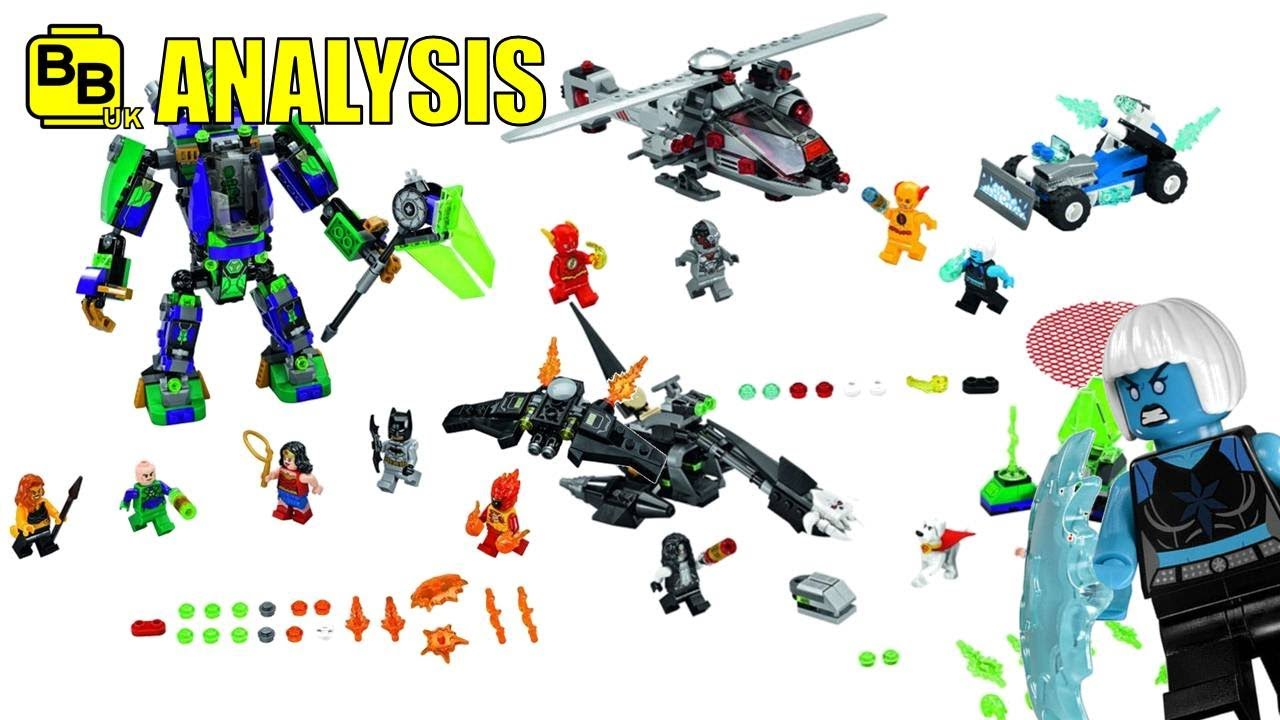 LEGO DC COMICS JUSTICE LEAGUE 2018 SET IMAGES ANALYSIS