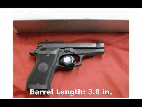 Beretta 85FS Cheetah .380 Auto Pistol - Tech Details