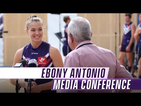 AFLW: Ebony Antonio - Back to basics | Media Conference: Monday 3 December, 2018