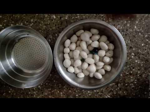 How to clean aquarium fishtank gravel in Hindi