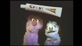 Crest Toothpaste Squirt 1972