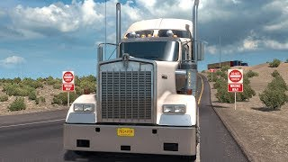 American Truck Simulator - New Mexico Gameplay (PC HD) [1080p60FPS]