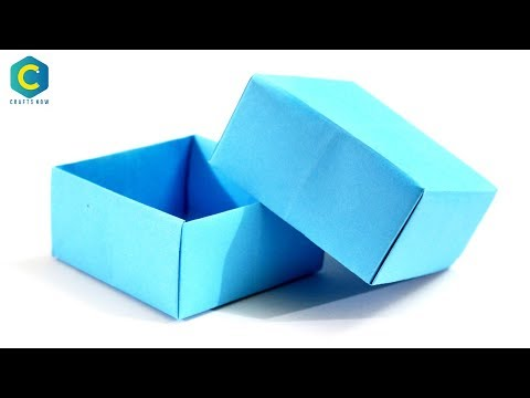 How to Make a Paper Box | how to Make a Paper Box without Glue | #paper | #box