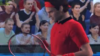 Top Spin 4 RPCS3 4k 60 fps Djokovic vs Federer