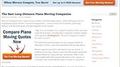 Interstate Piano Movers | QUOTES Top 6 Companies