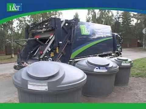 Заглубленные контейнеры L&T® DeepLine для сбора мусора