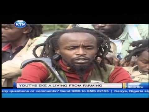 Youths in Nyeri want the Government to legalize weed as they smoke in public