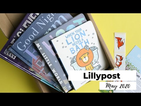Lillypost Unboxing May 2020: Children's Book Subscription Box