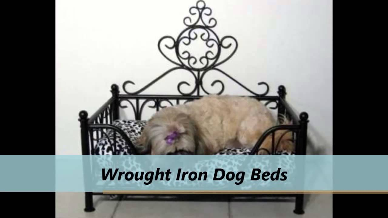 Precious Pets Paradise Wrought Iron Dog Bed