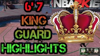 NBA 2K16 - 6'7 POINT GUARD PARK HIGHLIGHTS - NBA 2K16 PARK GAMEPLAY