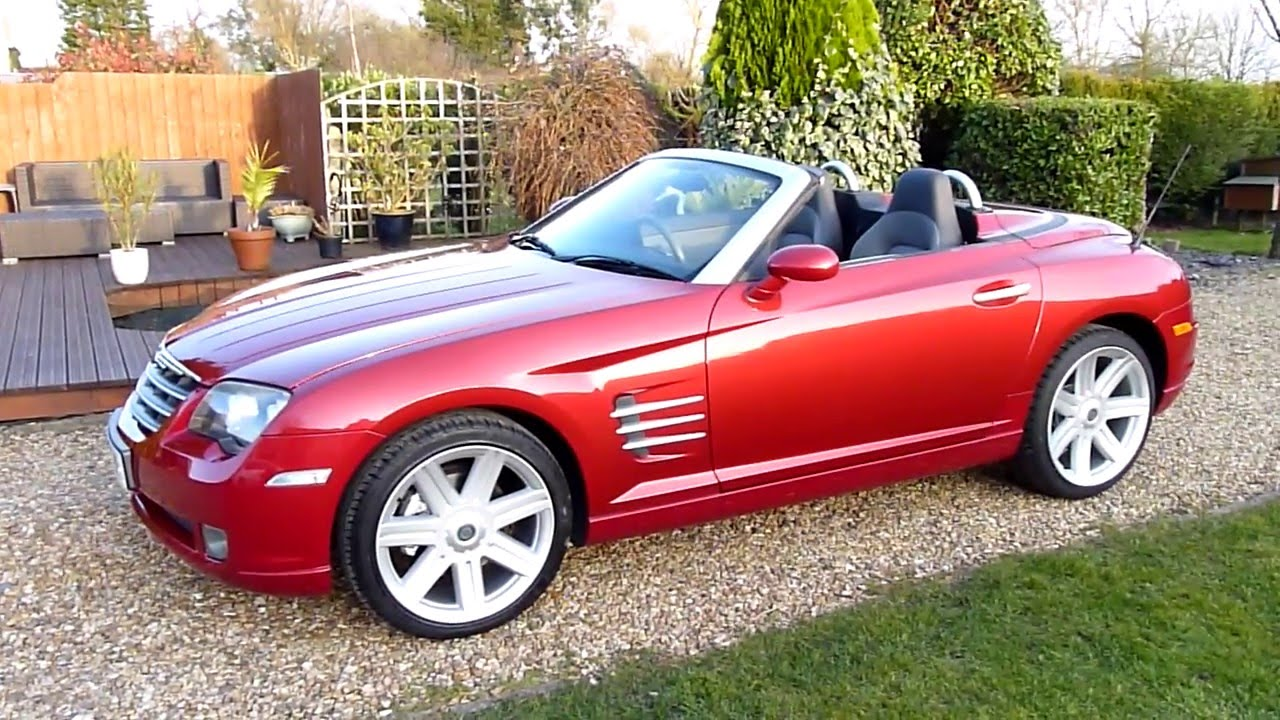 for in used sc sale chrysler crossfire florence roadster limited convertible
