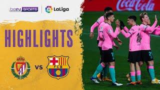 Valladolid 0-3 Barcelona | LaLiga 20/21 Match Highlights