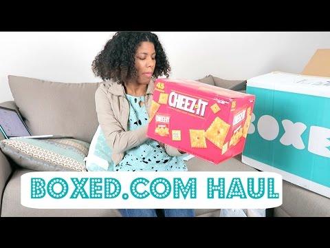 Boxed.com Haul/Review