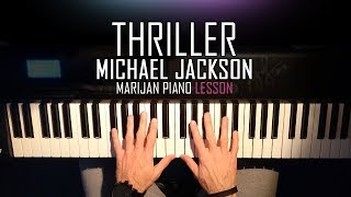 How To Play Michael Jackson Thriller Piano Tutorial Lesson Sheets.mp3