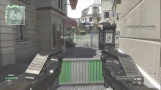 MW3 Across Map Throwing Knife Final Killcam