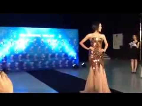 Miss Universe Thailand 2013 evening gown [2]