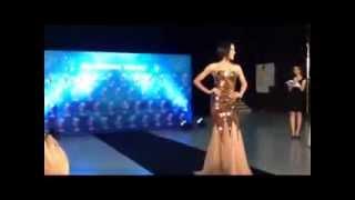 Miss Universe Thailand 2013 evening gown [2]