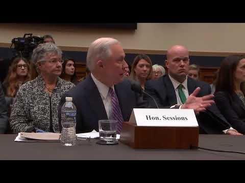 Gowdy questions Attorney Jeff General Sessions