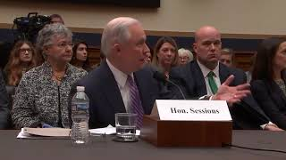 Gowdy questions Attorney General Jeff Sessions Free HD Video