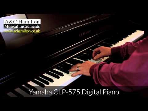 yamaha b1 upright piano vs yamaha clp 575 digital piano. Black Bedroom Furniture Sets. Home Design Ideas