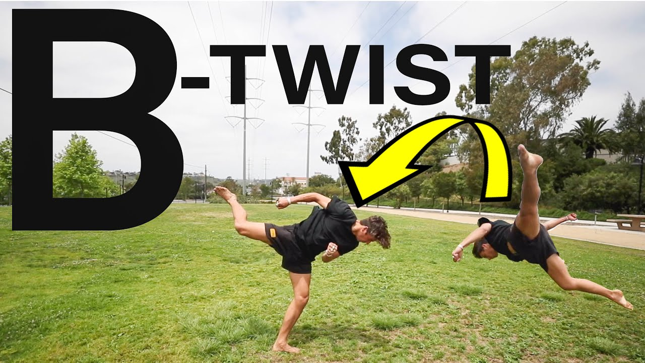 HOW TO DO A PERFECT B-TWIST (TRICKING TUTORIAL)