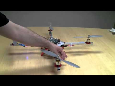 How A Quadcopter Works With Propellers And Motors Explained