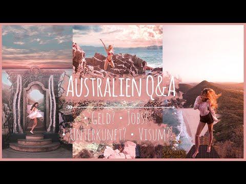 ♡ Q&A: Mein Jahr AUSTRALIEN  - Jobs, Wohnung, Visum, Reisen? I Hannah Cooper