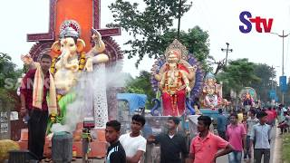 Ganesh idol immersion held in Balasore | Sanket Tv