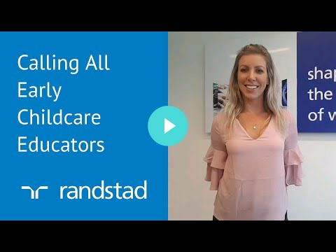 Calling All Early Childcare Educators