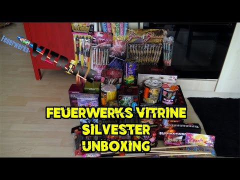 Feuerwerks-Vitrine Unboxing 2016/2017 | 200 € | Silvester2k