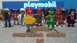 Playmobil serie 15