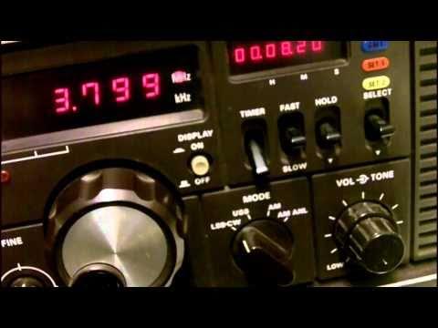 Yaesu FRG-7000 on 80M