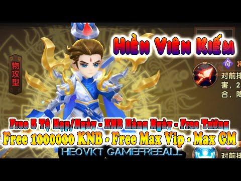 Game 638: Hiền Viên Kiếm (Android,PC,IOS)   Free KNB – Vip – Max GM – 5 Tệ Nạp/Ngày – Tướng [HeoVKT]