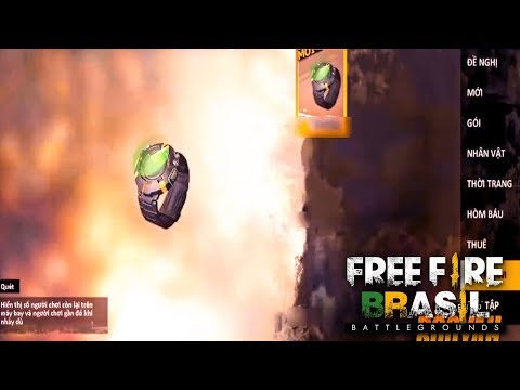 VAZOU! TRAILER DA NOVA INTERFACE E ITENS! - FREE FIRE BATTLEGROUNDS ‹‹ FalandoJogando ››