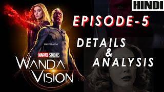WandaVision Episode 5 Details & Analysis | Ending Explained | MARVEL |