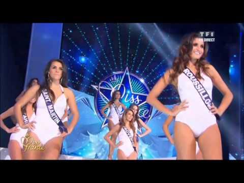 Miss France 2013 - défilé maillots 1 pièce