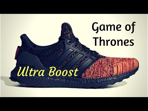 Adidas x Game of Thrones 'House Targaryen' Ultraboost Core BlackCore BlackScarlet EE3709