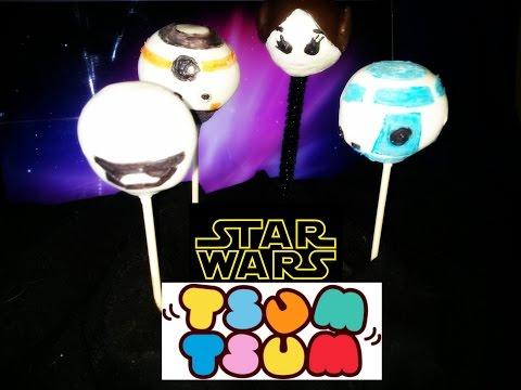 How to Make Star Wars Tsum Tsum Cake Pops DIY