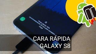 La carga rápida del Samsung Galaxy S8 no funciona con la pantalla encendida