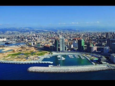 Beirut es la capital de Líbano, la perla en el mar Mediterráneo