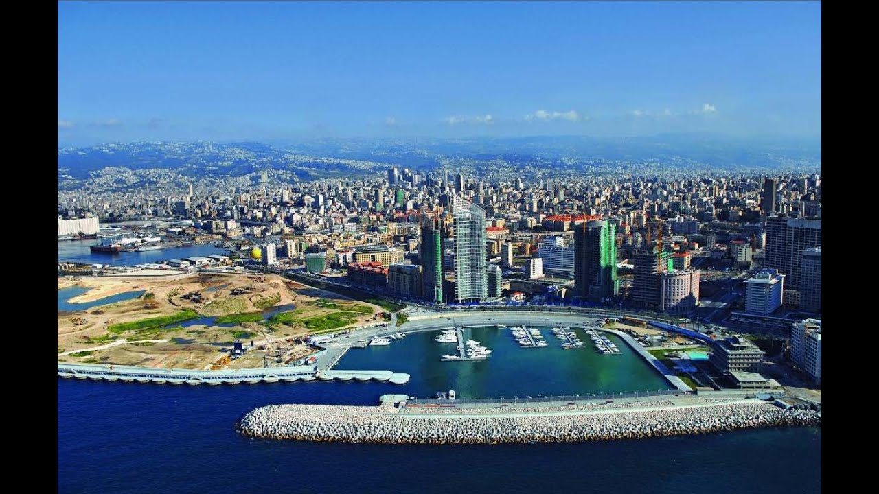 beirut es la capital de lbano la perla en el mar mediterrneo