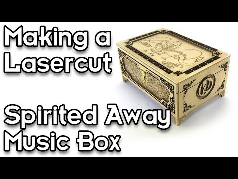 Making a Spirited Away Music Box