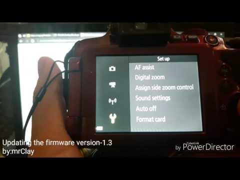 [Updating Firmware Version-1.3] Nikon...