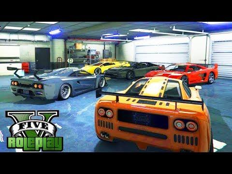 GTA V: BRASIL ROLEPLAY - NOVA GARAGEM de CARROS ILEGAIS!!! #206