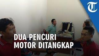 Dua Pencuri Motor Di Ngaliyan Semarang Ditangkap Pelaku Sempat Dorong Motor 1 Km