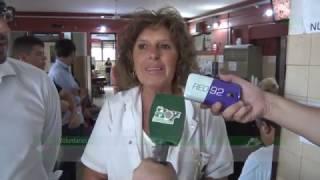 Donación de sangre en el Instituto de Hemoterapia