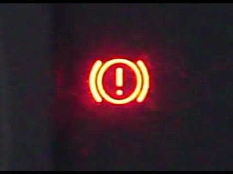 How To Reset Brake Warning Light. Toyota Corolla. VVT-i Engine. Years 2000 To 2007.