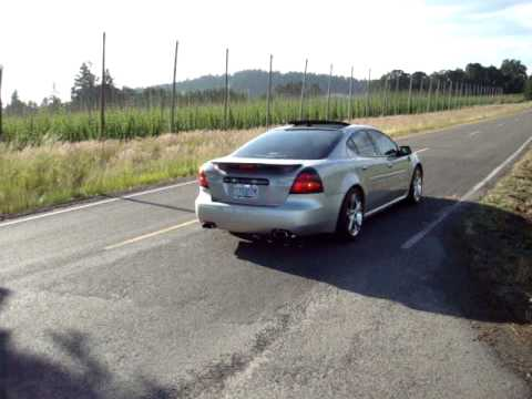 2006 Pontiac Grand Prix Gxp W Slp Exhaust Youtube