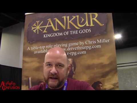 Interview: Chris Miller on Ankur: Kingdom of the Gods